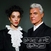 David Byrne & St. Vincent - Love This Giant artwork