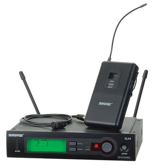 Shure wireless - SLX14/WL185