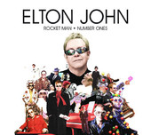 Elton John - Rocket Man - Number Ones artwork